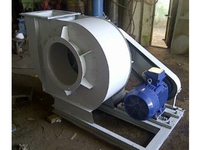 centrifugal dust collector fan