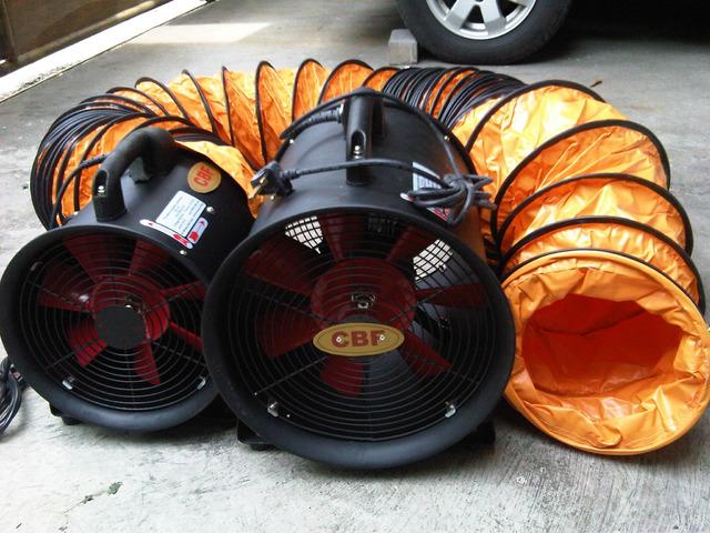 jual portable ventilator fan merk CBF