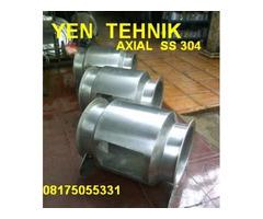 jual Axial beforcated fan stainlees steel 304