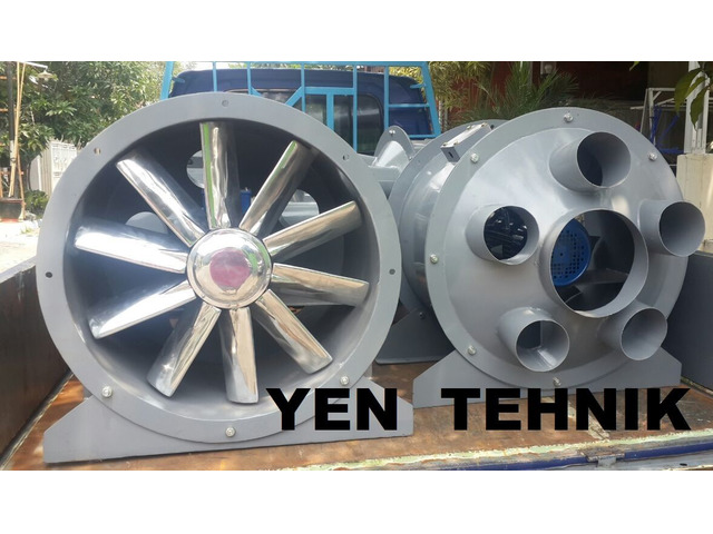 Axial fan direct + tutup