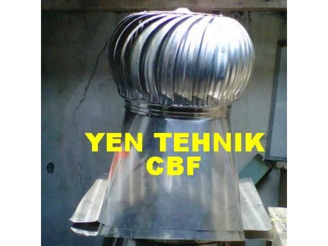 Jual turbin ventilator fan