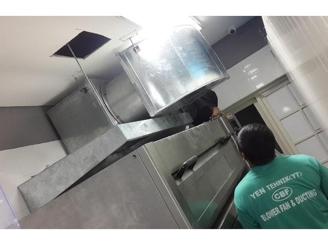 Jasa pembuatan instalasi ducting restoran