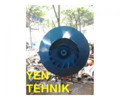 pembuatan impeller centrifugal backward