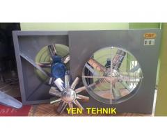 axial wall mouted fan