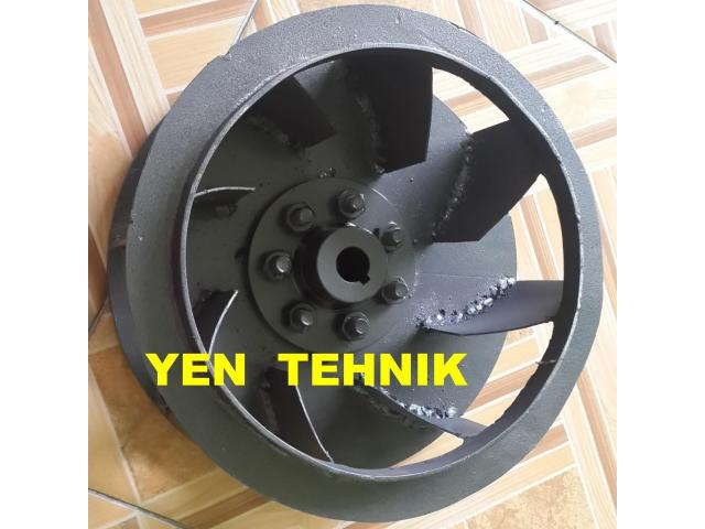 pembuatan impeller centrifugal backward